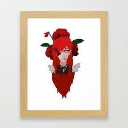 Grell Sutcliff // Pansy Framed Art Print