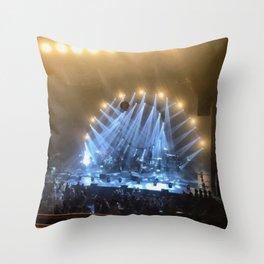 Silver & Gold Concert Throw Pillow