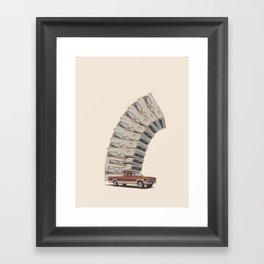 Pop Topped Framed Art Print