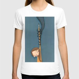 drowned in Liquid  T-shirt