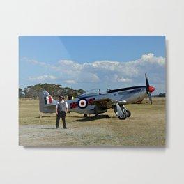 Vintage Aircraft, Napier (New Zealand Collection) Metal Print