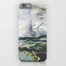 Hot Springs Trees iPhone Case