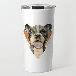Puppy Eyes 5 Travel Mug