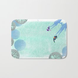 Skating Bath Mat