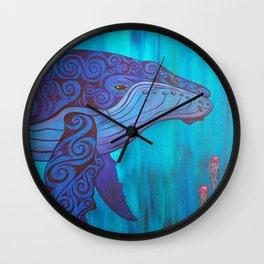 Peaceful Might Wall Clock