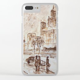 city high Clear iPhone Case