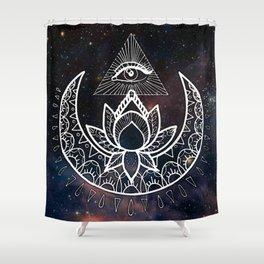 Lunar Eye Shower Curtain