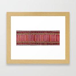 Kurdish Azerbaijan Northwest Persian Long Rug Print Framed Art Print