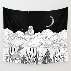 Moon River Wall Tapestry