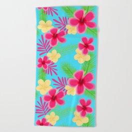 05 Hawaiian Shirt Beach Towel