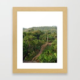 A Long Road Home Framed Art Print