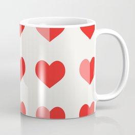 In Love with Hearts Coffee Mug