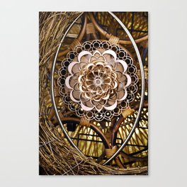 Bless Nest Canvas Print