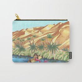 A Mermaid Oasis Carry-All Pouch
