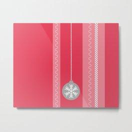 Red Christmas Metal Print