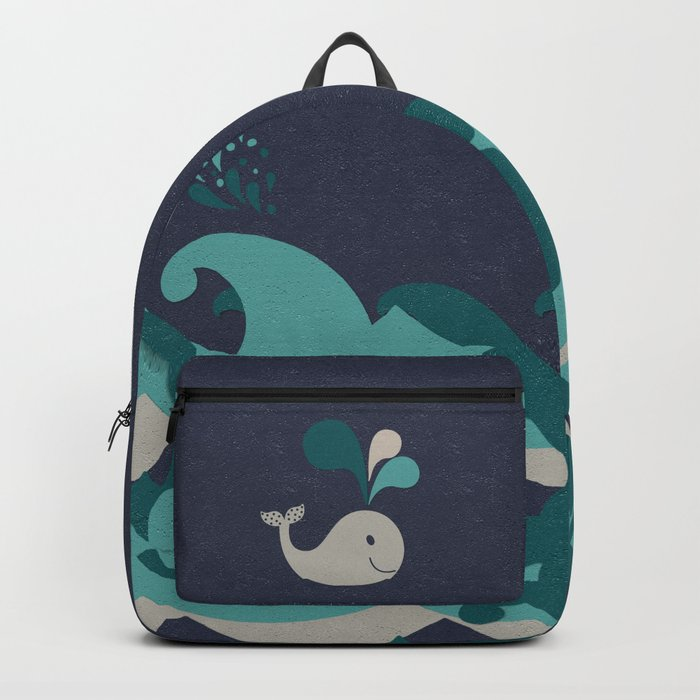 A Whale Of A Time Backpack