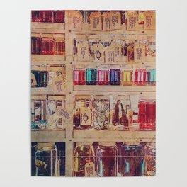 The science shelf Poster