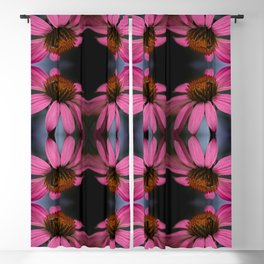 Coneflower with Bug Blackout Curtain