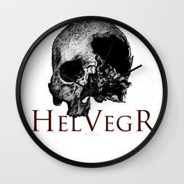 Helvegr Skull Wall Clock