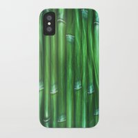 bamboo iPhone & iPod Cases featuring Bamboo by Digital-Art