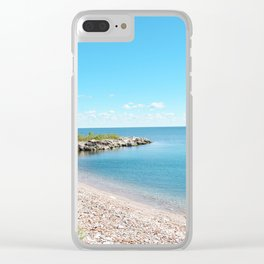AFE Tommy Thompson Park 2, Beach Photography Clear iPhone Case