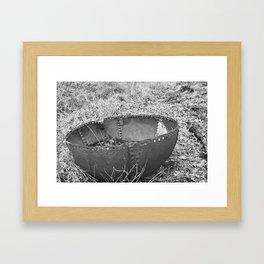 Iron Bowl Framed Art Print