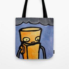 Robot - You Complete Me Tote Bag