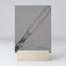 Light Saber Mini Art Print
