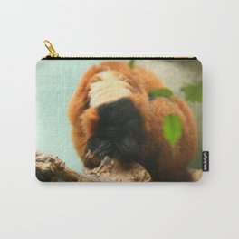 Sleeping Monkey Photography Print Carry-All Pouch
