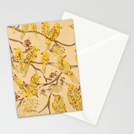 Feathered Friends Batik Stationery Cards