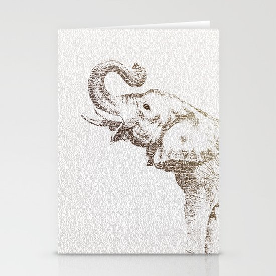 The Wisest Elephant Stationery Cards