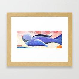 Bluebird II Framed Art Print
