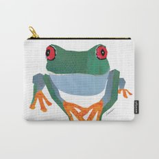 Tree Frog, Collage Carry-All Pouch