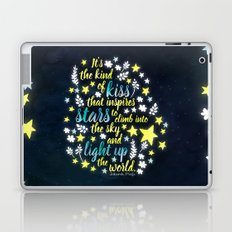 Shatter Me - Stars quote design Laptop & iPad Skin