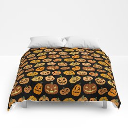 Jack o' Lantern Comforters