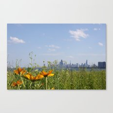 Chicago/Flowers/Skyline/City Canvas Print
