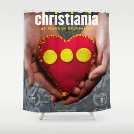 Christiania - 40 Years of Occupation Shower Curtain
