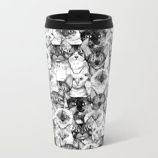 just cats Metal Travel Mug