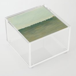 How strange it is to be anything at all Acrylic Box
