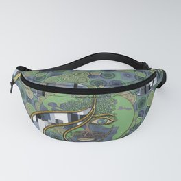 Face of Earth Fanny Pack