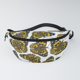 Painted lady butterfly pattern Fanny Pack