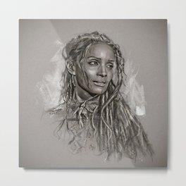 Lilakoi Metal Print