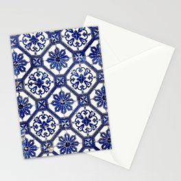 Blue and White Portuguese Tile - Stationery Cards