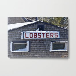 Lobsters Metal Print