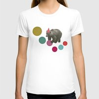 birthday T-shirts featuring Birthday Bear by Cassia Beck