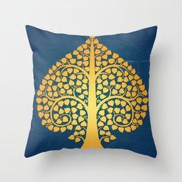 Bodhi Tree0206 Throw Pillow