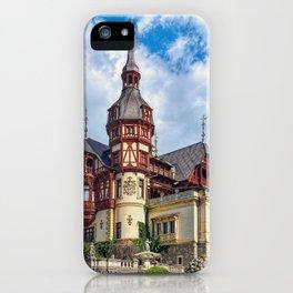 Peleș Castle, Romania iPhone Case