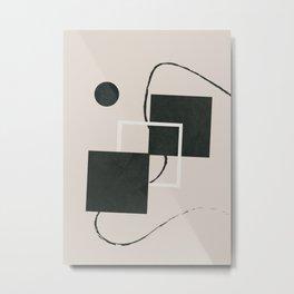 Abstract Geometric Art I Metal Print