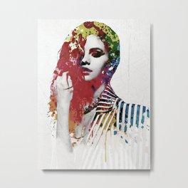 Gomez artwork Metal Print