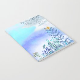 Blue Garden II Notebook